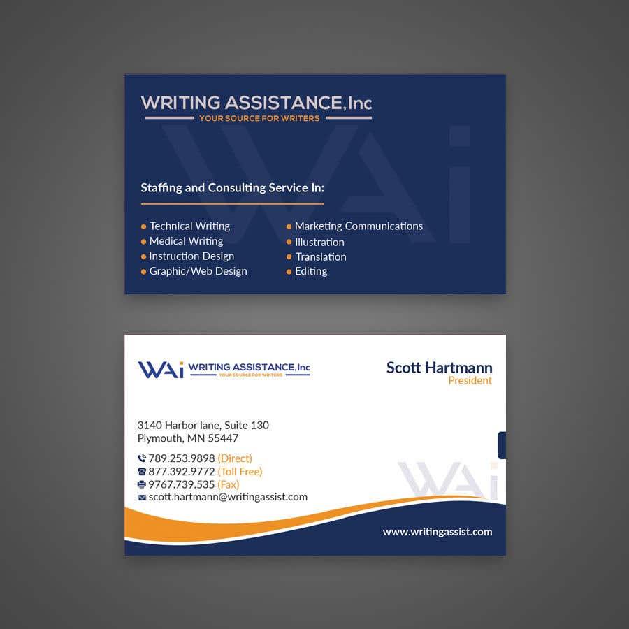 Inscrição nº 489 do Concurso para New Business Card Design