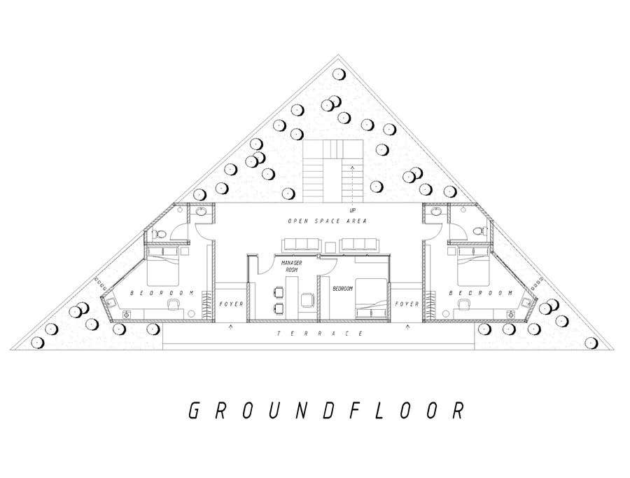 Proposition n°29 du concours Floor Plan needed for a student residence
