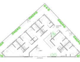 nº 26 pour Floor Plan needed for a student residence par kellyfloreste
