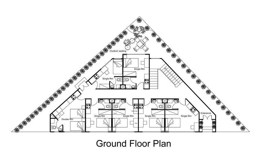 Proposition n°14 du concours Floor Plan needed for a student residence