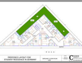 #43 for Floor Plan needed for a student residence af designershra