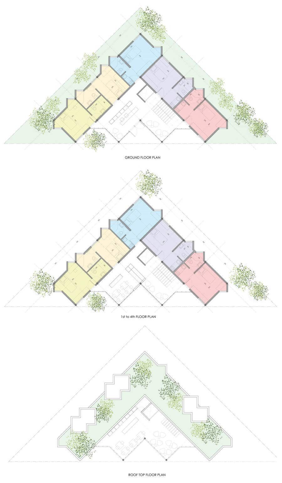 Proposition n°42 du concours Floor Plan needed for a student residence