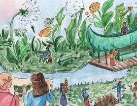 #12 untuk Whimsical illustrations for children's book oleh vivsmoyano