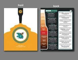 #49 cho Beer Menu Needed for Customers and Distribution. bởi cjsevilleja