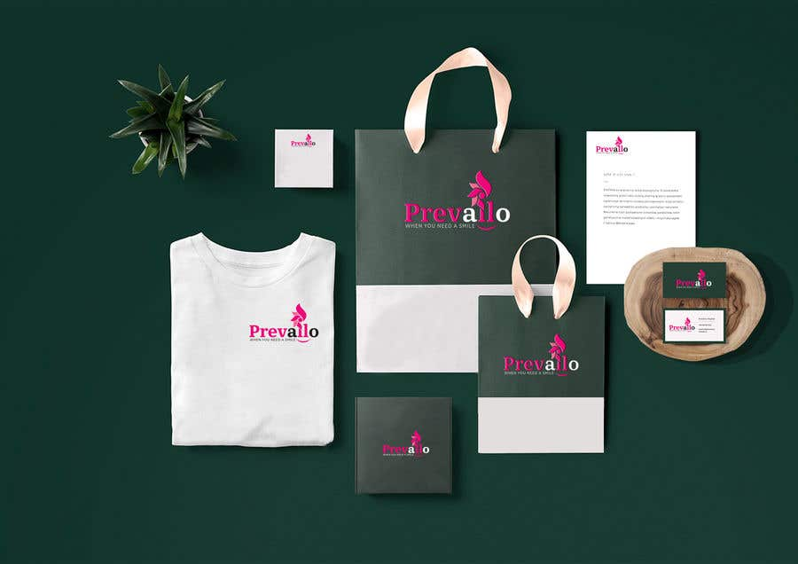 Konkurrenceindlæg #672 for Prevailo logo design and corporate identity