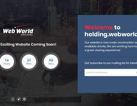 Nro 149 kilpailuun Creative holding page for hosting company käyttäjältä Isha3010
