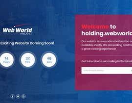 Nro 160 kilpailuun Creative holding page for hosting company käyttäjältä Isha3010