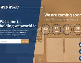 Nro 154 kilpailuun Creative holding page for hosting company käyttäjältä shimul663
