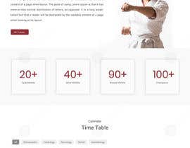 #47 for Design for capoeira web site by doomshellsl