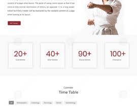 nº 47 pour Design for capoeira web site par doomshellsl