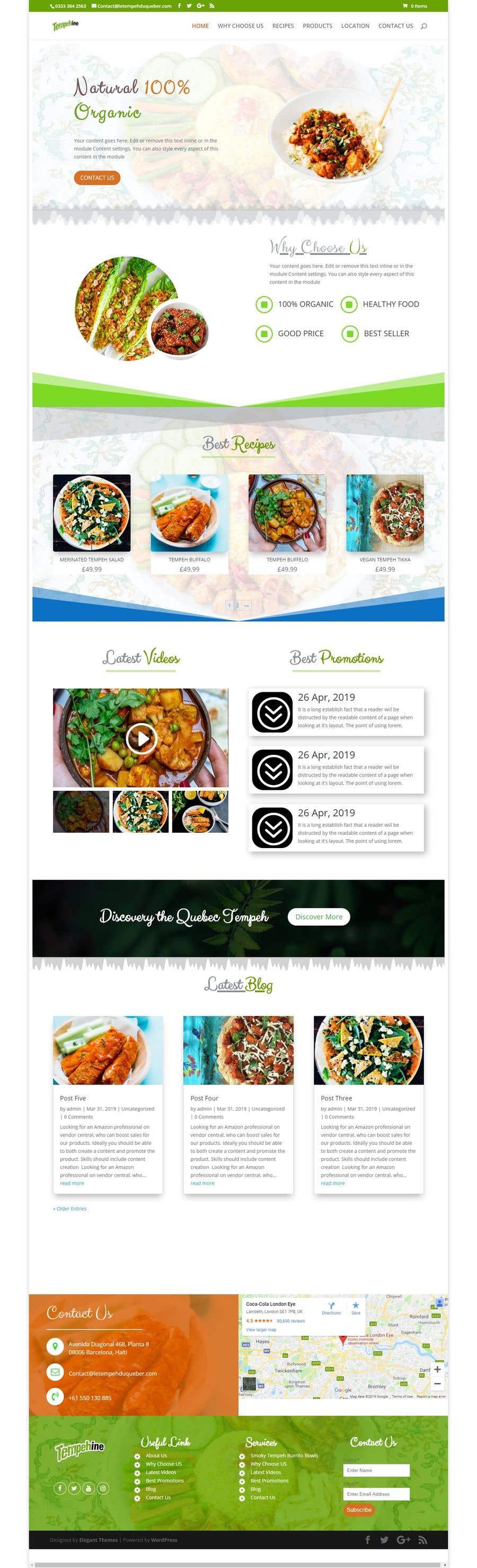 Penyertaan Peraduan #3 untuk Website, Logo and Display box Mockup