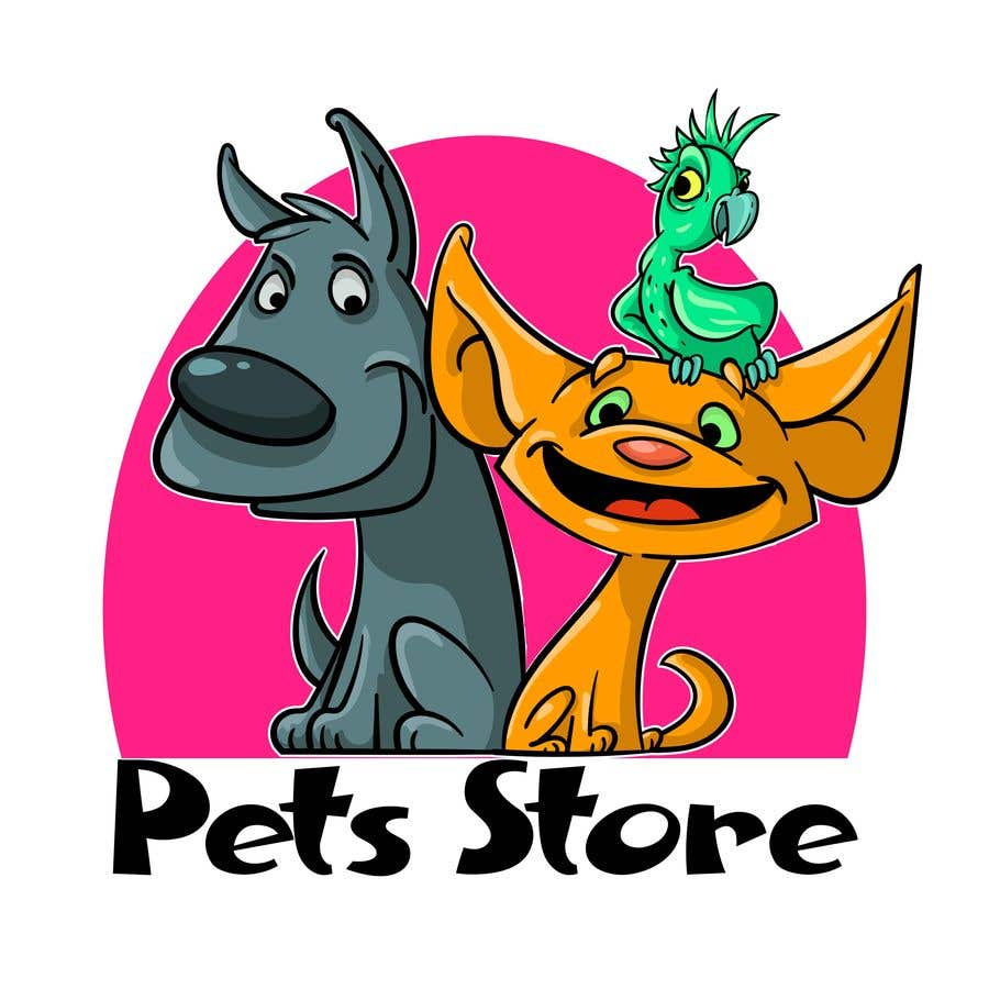 Penyertaan Peraduan #27 untuk Need a creative logo for my online pet store
