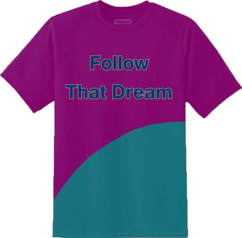 Proposition n°2 du concours I need this shirt mocked up. At parts I'd like the words to overlap pink to blue, changing color mid sentence or mid letter. I need to send this to a manufacturer to get it made. Thank you. Questions please dm.