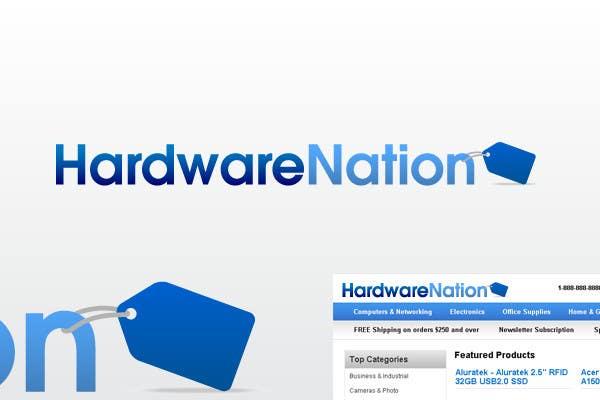 Participación en el concurso Nro.                                        237                                      para                                         Logo Design for HardwareNation.com