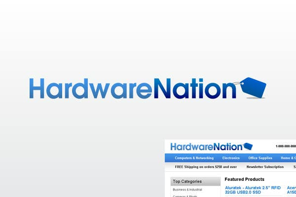 Contest Entry #                                        175                                      for                                         Logo Design for HardwareNation.com