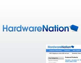 #175 para Logo Design for HardwareNation.com de Vick77
