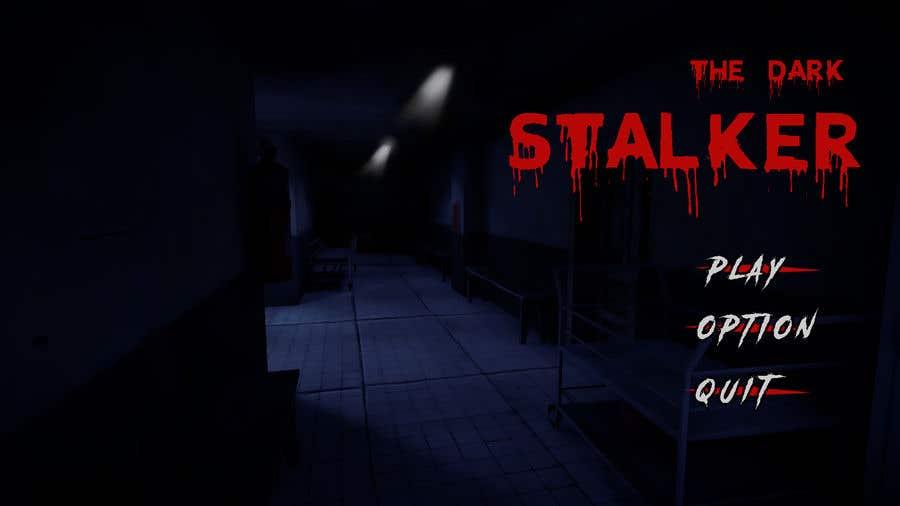 Konkurrenceindlæg #9 for Design a main menu for a horror game