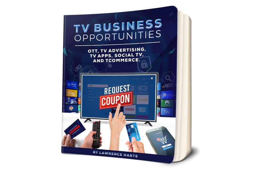 Bài tham dự cuộc thi #82 cho Create a Front Book Cover Image about New TV Business Opportunities