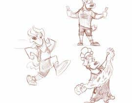 #33 for Mascot Cartoon Illustrations (multiple poses) - done by 17 May af ToaMota