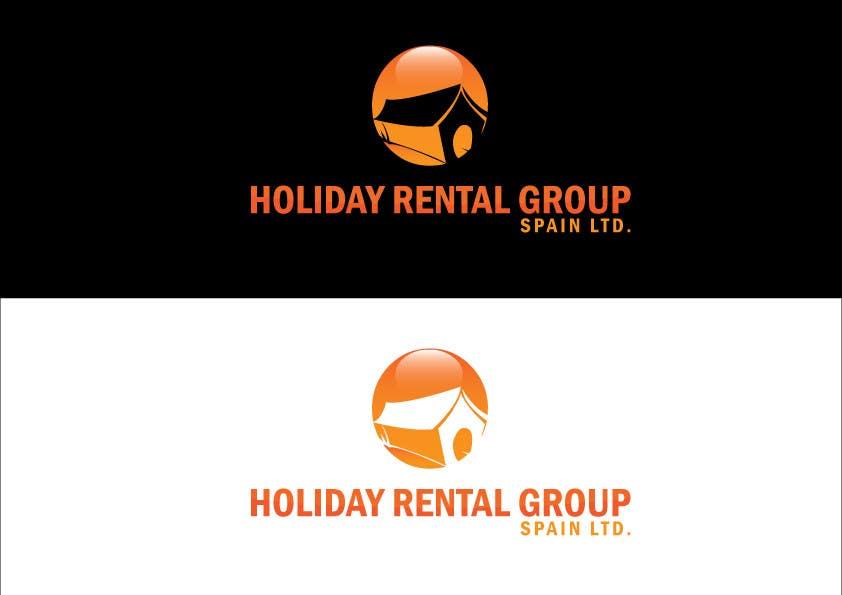 """Penyertaan Peraduan #15 untuk Logo Design for """"Holiday Rental Group Spain Ltd."""""""