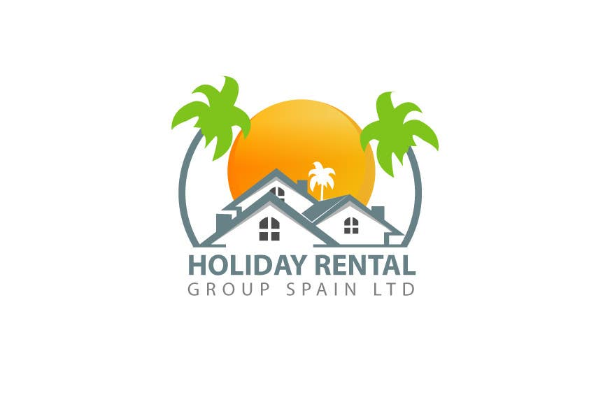 """Contest Entry #5 for Logo Design for """"Holiday Rental Group Spain Ltd."""""""