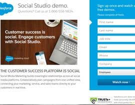 #22 for Design a CRM system landing page by mdmonzil