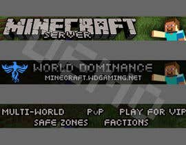 #11 untuk Animated Minecraft Banner Needed By End of Week - Active Feedback Given oleh viktorbublic