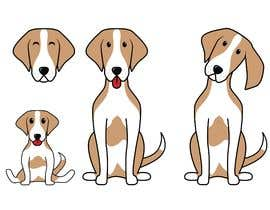 Nro 15 kilpailuun Create a 2D  brand character inspired by a type of dog käyttäjältä astakhovalexalex