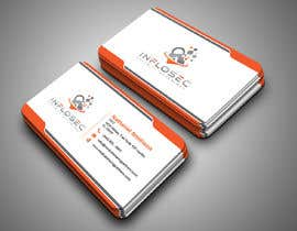 #514 for Business Card Design for IT Security Company by abdulmonayem85