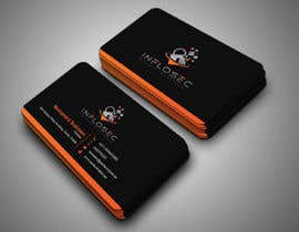 #519 for Business Card Design for IT Security Company by abdulmonayem85