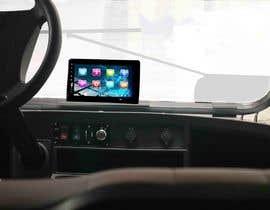 #31 para Photoshop touch screen on to dashboard of golf cart por Creative3dArtist
