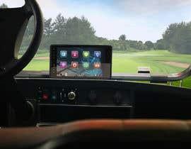 #18 para Photoshop touch screen on to dashboard of golf cart por NikolayKitanov