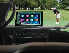 #19 para Photoshop touch screen on to dashboard of golf cart por Greenwaber