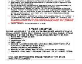 Nro 10 kilpailuun Quick Marketing strategy käyttäjältä bootmacroinfo