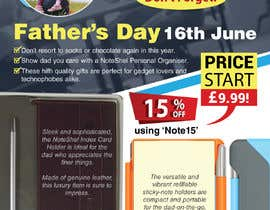 #42 untuk Need a flyer designed for Fathers Day Promotion oleh sushanta13