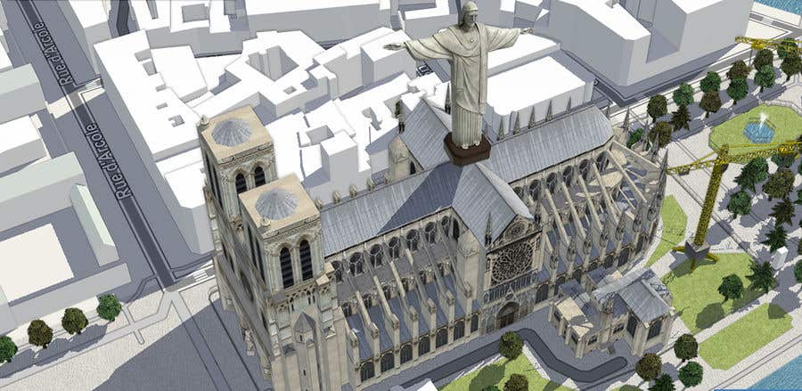Contest Entry #                                        77                                      for                                         How would you rebuild the Notre-Dame Cathedral?