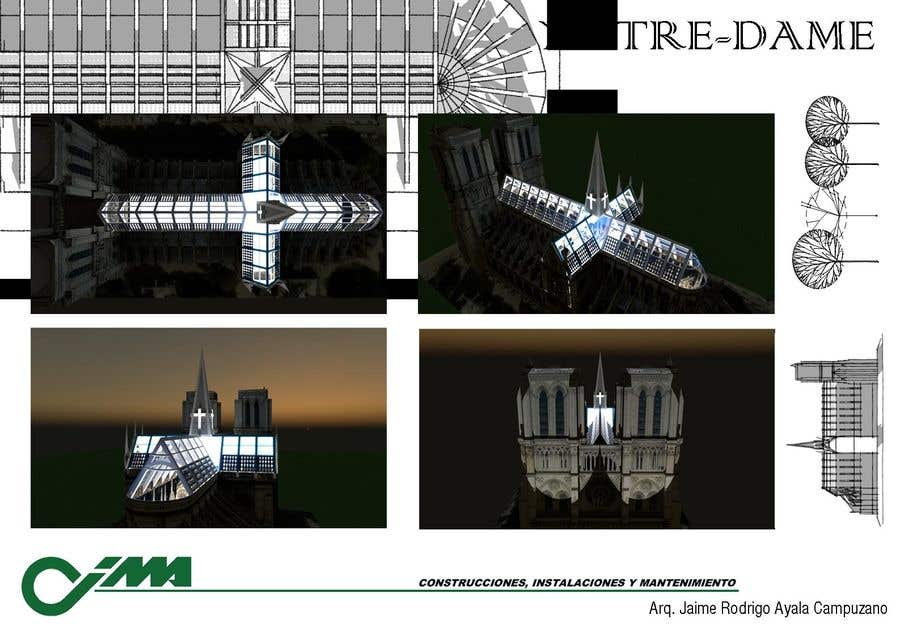 Contest Entry #                                        89                                      for                                         How would you rebuild the Notre-Dame Cathedral?