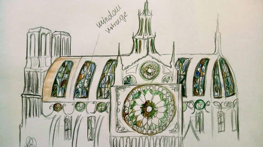 Contest Entry #                                        82                                      for                                         How would you rebuild the Notre-Dame Cathedral?