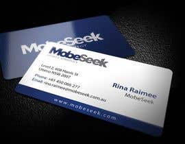 #1 para Business Card Design for MobeSeek de topcoder10