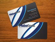 Graphic Design Конкурсная работа №135 для Business Card Design for MobeSeek