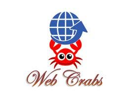 #28 for I need a logo design for website development company. Company name: Web Crabs. Need attractive and colourful logo for digital agency. by Asykinikin