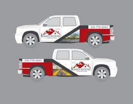 #66 para Partial truck wrap Grace Roofing & Construction por naharchhabekun