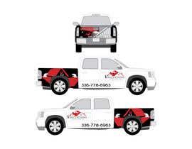 #40 para Partial truck wrap Grace Roofing & Construction por erwantonggalek