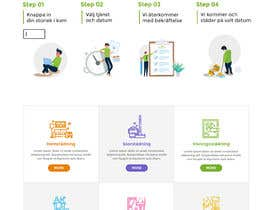 #179 для Create a new INDEX page for a Cleaning company от CoolDesignr