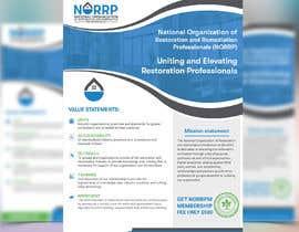 #110 untuk Create a membership informational flyer oleh Uttamkumar01