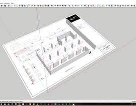 #4 para 3D interior Design of a Restaurant / Butcher Shop total de Render500