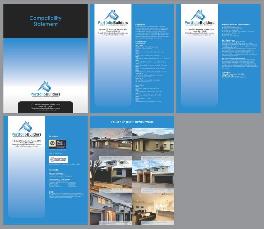 Bài tham dự cuộc thi #12 cho Word or PDF document for a company profile/cv