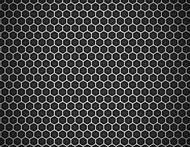 #78 for Backdrop: DARPA Black/Stylized Hexagon Pattern by airinbegumpayel