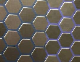 #81 for Backdrop: DARPA Black/Stylized Hexagon Pattern by dawnboyd