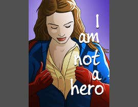 "#158 for ""I Am Not A Hero."" Book cover project. -- 3 af diaco80"